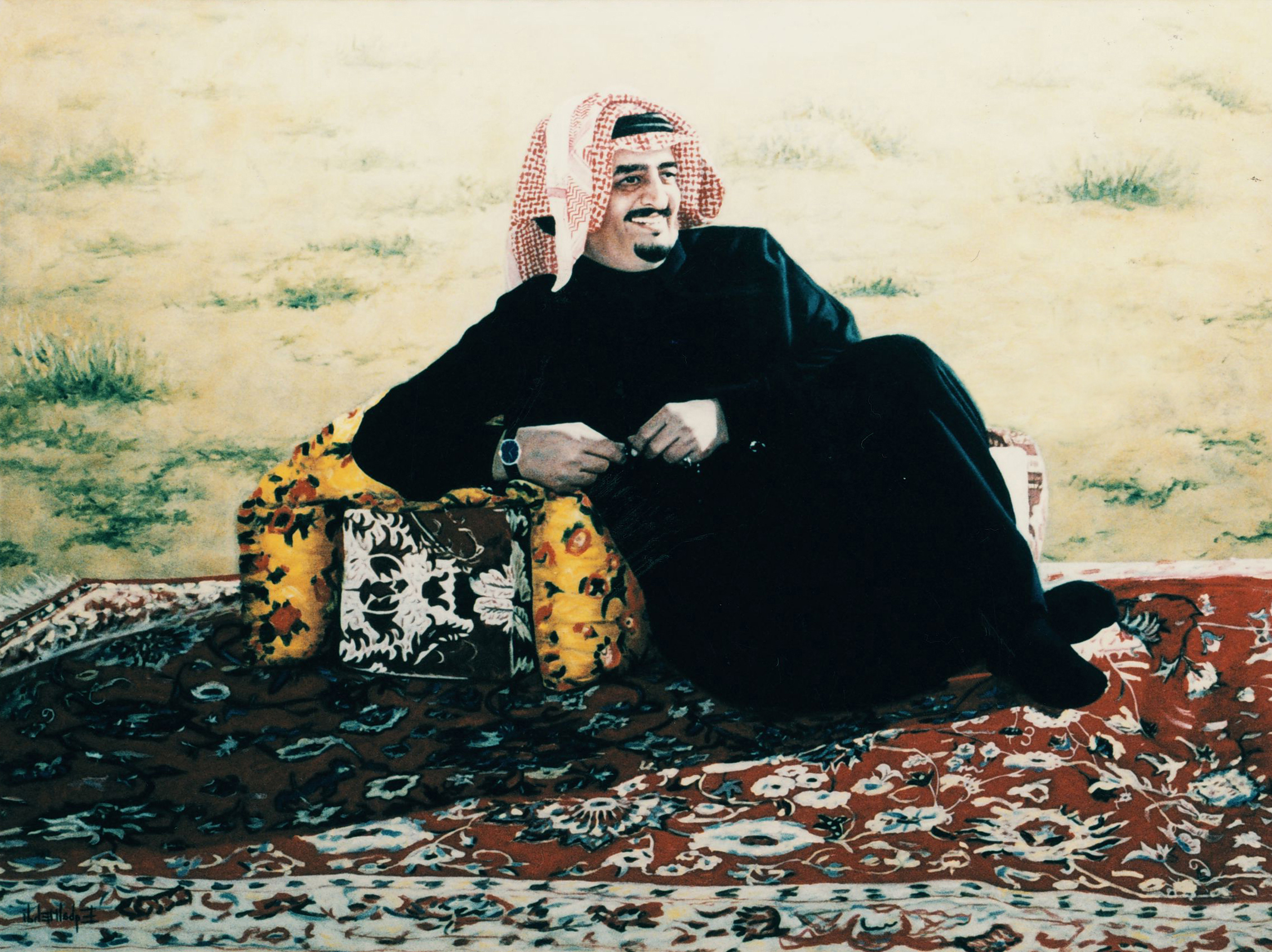 الملك السعودى الراحل فهد بن عبد العزيز