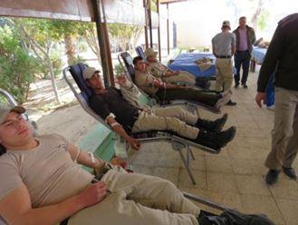 حملات التبرع بالدم