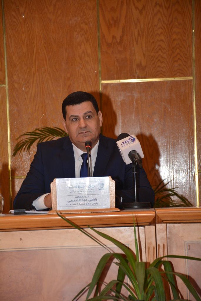 رئيس جهاز حماية المستهلك يؤكد من جامعة أسيوط  (9)