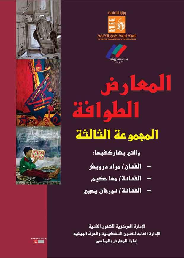 المعرض الطواف الثالث بقصر ثقافة السويس (1)