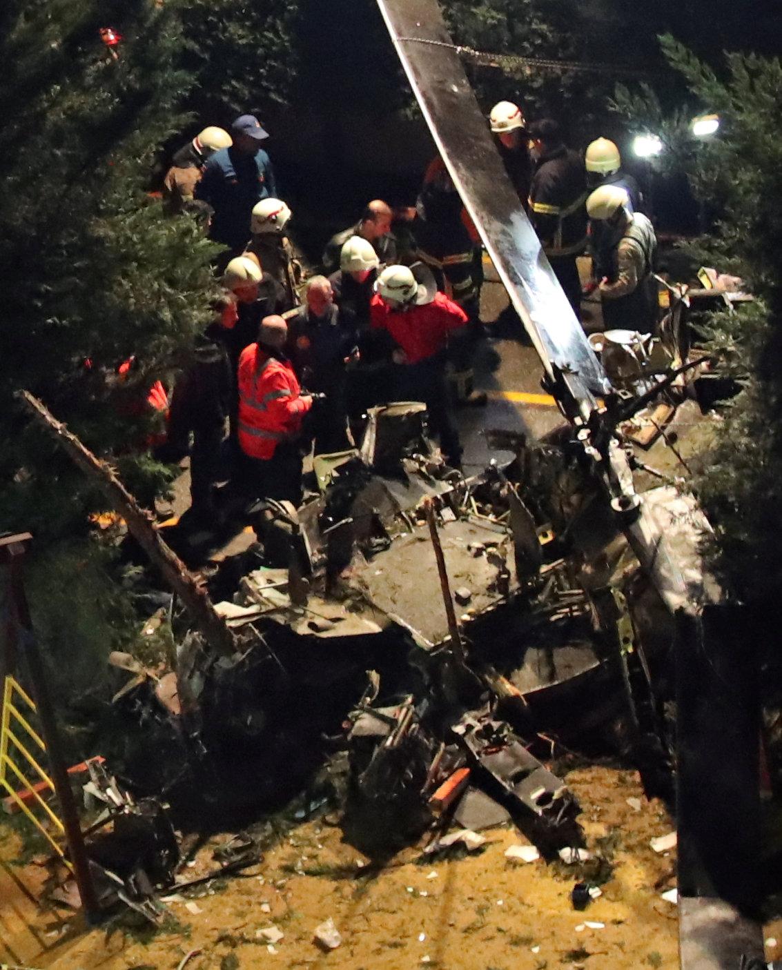 حادث تحطم المروحية