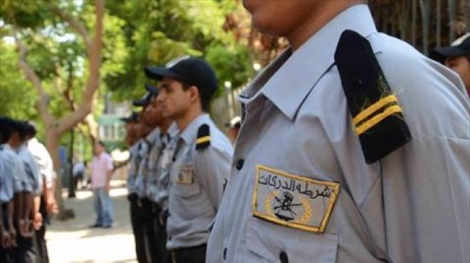 عسكرى الدرك بعد نشره فى شوارع الزمالك عام 2014