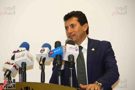 مؤتمر إعلان تفاصيل بطولتى الجائزة الكبرى وكأس العالم للسلاح (2)