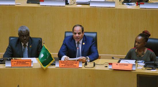 للقمة الأفريقية فى إثيوبيا برئاسة السيسى (1)
