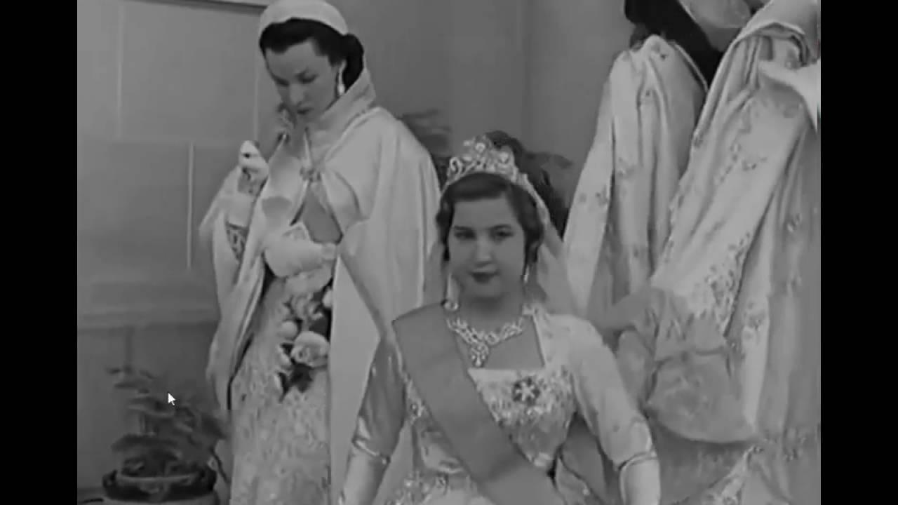 من زفاف الملك وناريمان