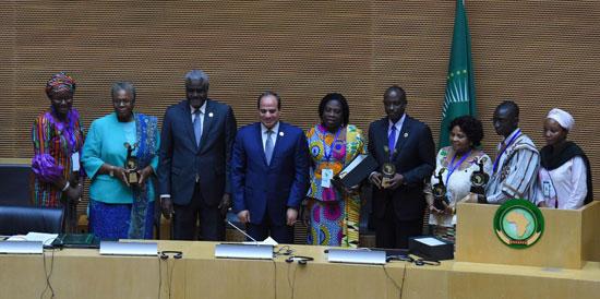 للقمة الأفريقية فى إثيوبيا برئاسة السيسى (3)
