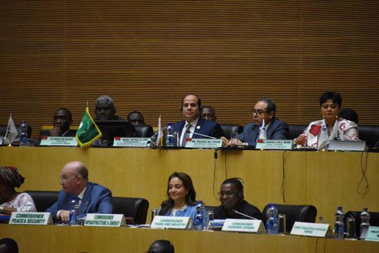 للقمة الأفريقية فى إثيوبيا برئاسة السيسى (2)