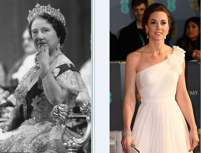أسورة كيت تعود إلى والدة الملكة إليزابيث الثانية
