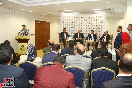 مؤتمر إعلان تفاصيل بطولتى الجائزة الكبرى وكأس العالم للسلاح (17)