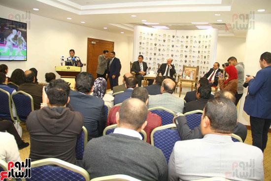 مؤتمر إعلان تفاصيل بطولتى الجائزة الكبرى وكأس العالم للسلاح (5)