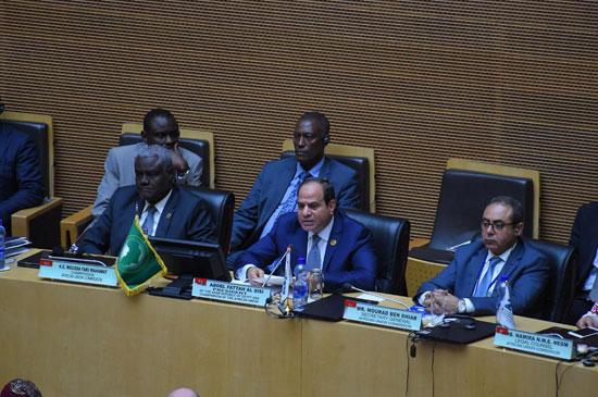 للقمة الأفريقية فى إثيوبيا برئاسة السيسى (8)