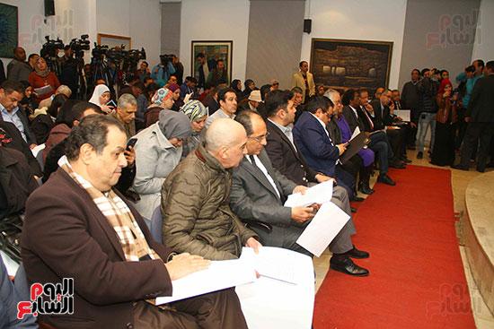المؤتمر الصحفى للإعلان عن أجندة أفريقيا (8)