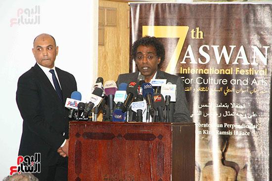 المؤتمر الصحفى للإعلان عن أجندة أفريقيا (11)