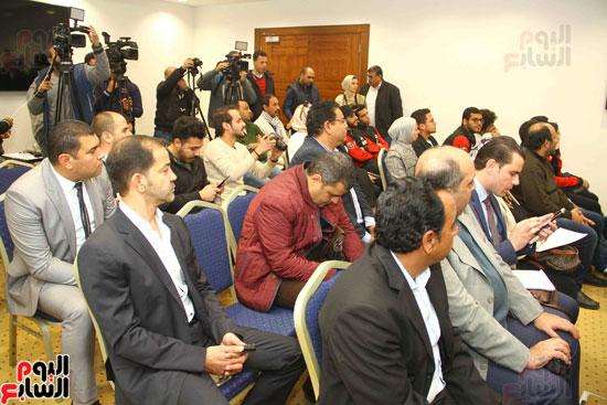 مؤتمر إعلان تفاصيل بطولتى الجائزة الكبرى وكأس العالم للسلاح (18)