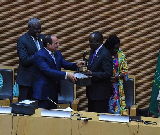 للقمة الأفريقية فى إثيوبيا برئاسة السيسى (6)