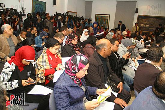 المؤتمر الصحفى للإعلان عن أجندة أفريقيا (5)