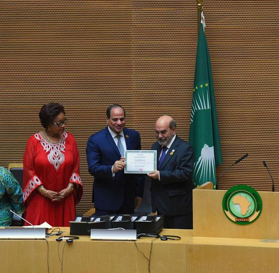للقمة الأفريقية فى إثيوبيا برئاسة السيسى (4)