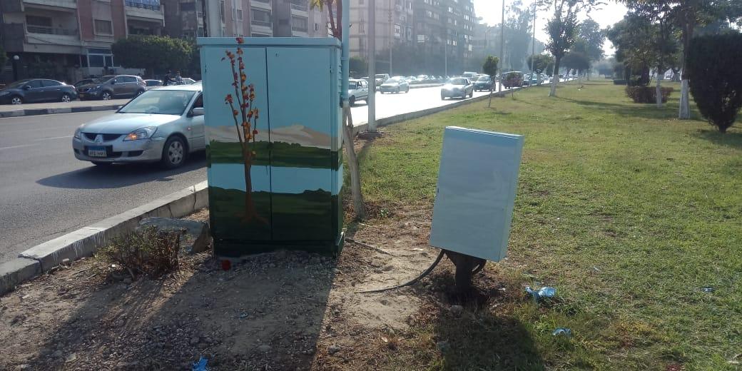 تحويل أكشاء الكهرباء الى لوحات فنية (7)
