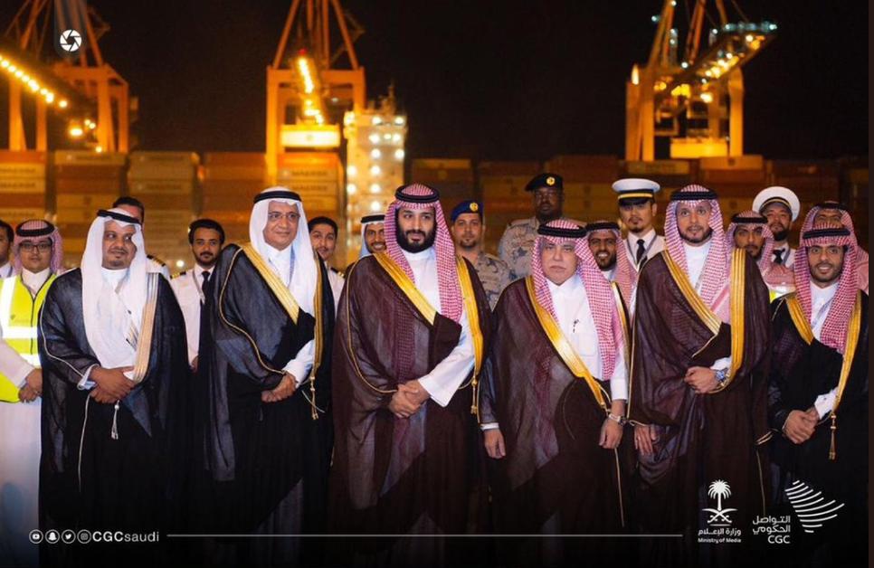 الأمير محمد بن سلمان يدشن ميناء الملك عبد الله