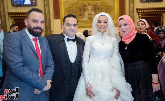 حفل زفاف الزميل لؤى على (36)