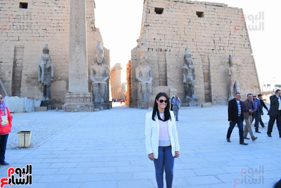 وزيرة-السياحة-في-الاقصر-(7)