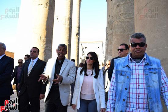 وزيرة-السياحة-في-الاقصر-(4)