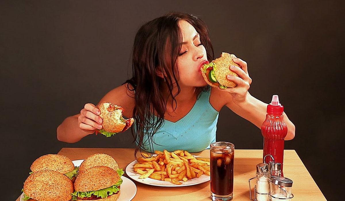 الجوع والدورة الشهرية