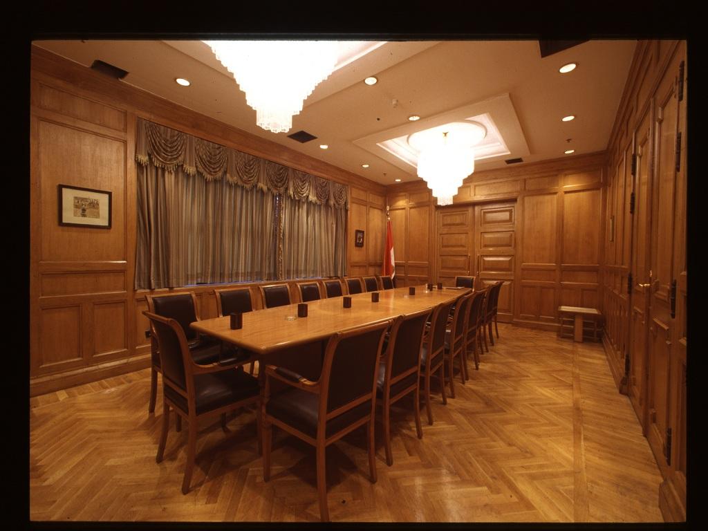 قاعة المداولة الفرعية للمحكمة