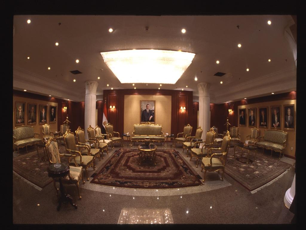 قاعة استقبال الضيوف الرئيسية vip