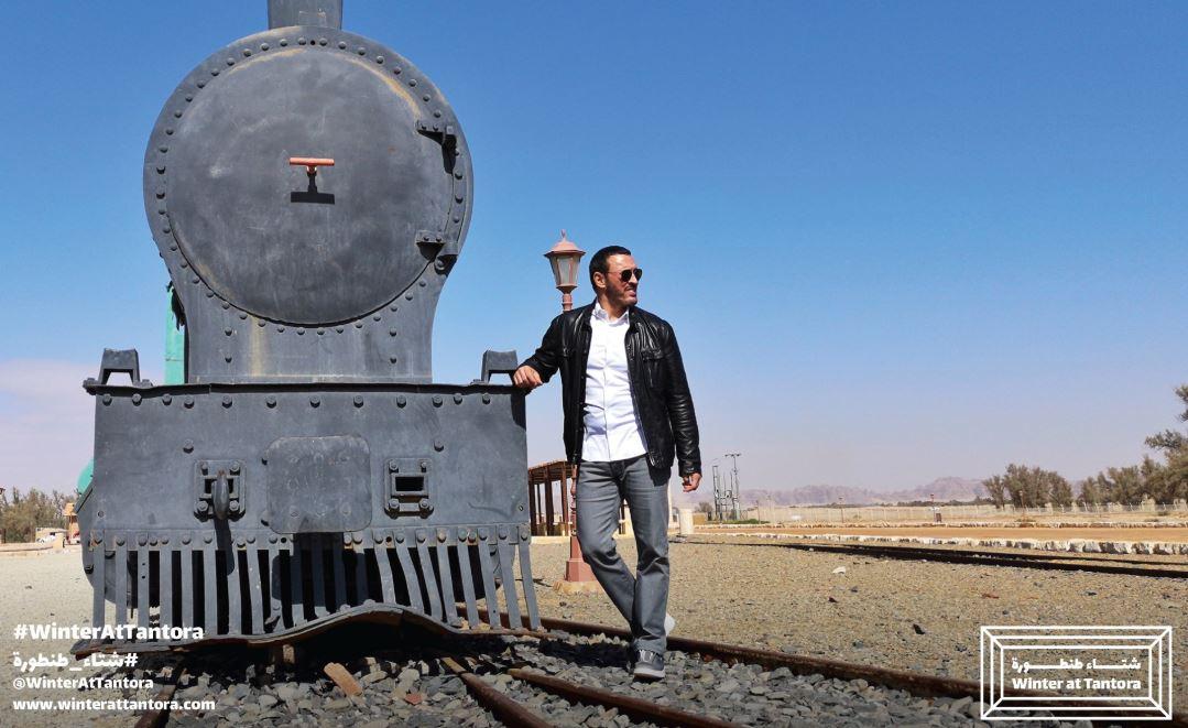 كاظم الساهر فى جولة بمدينة العلا (3)