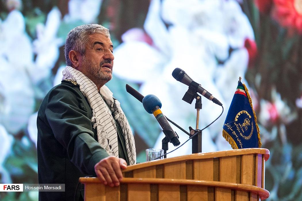 قائد الحرس الثورى الايرانى