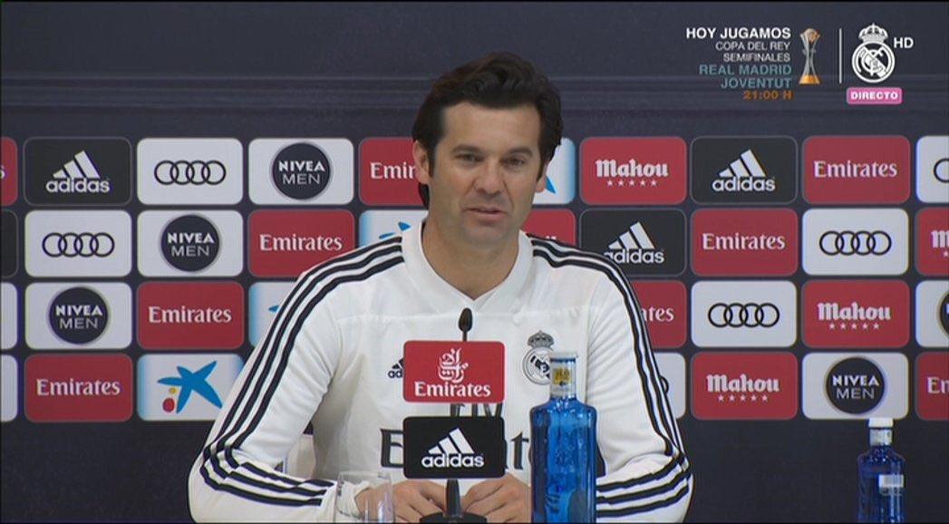 سولاري مدرب ريال مدريد