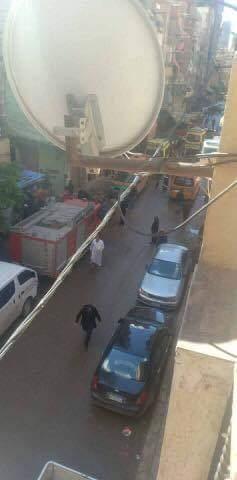 حادث انهيار عقار كرموز بالإسكندرية  (3)