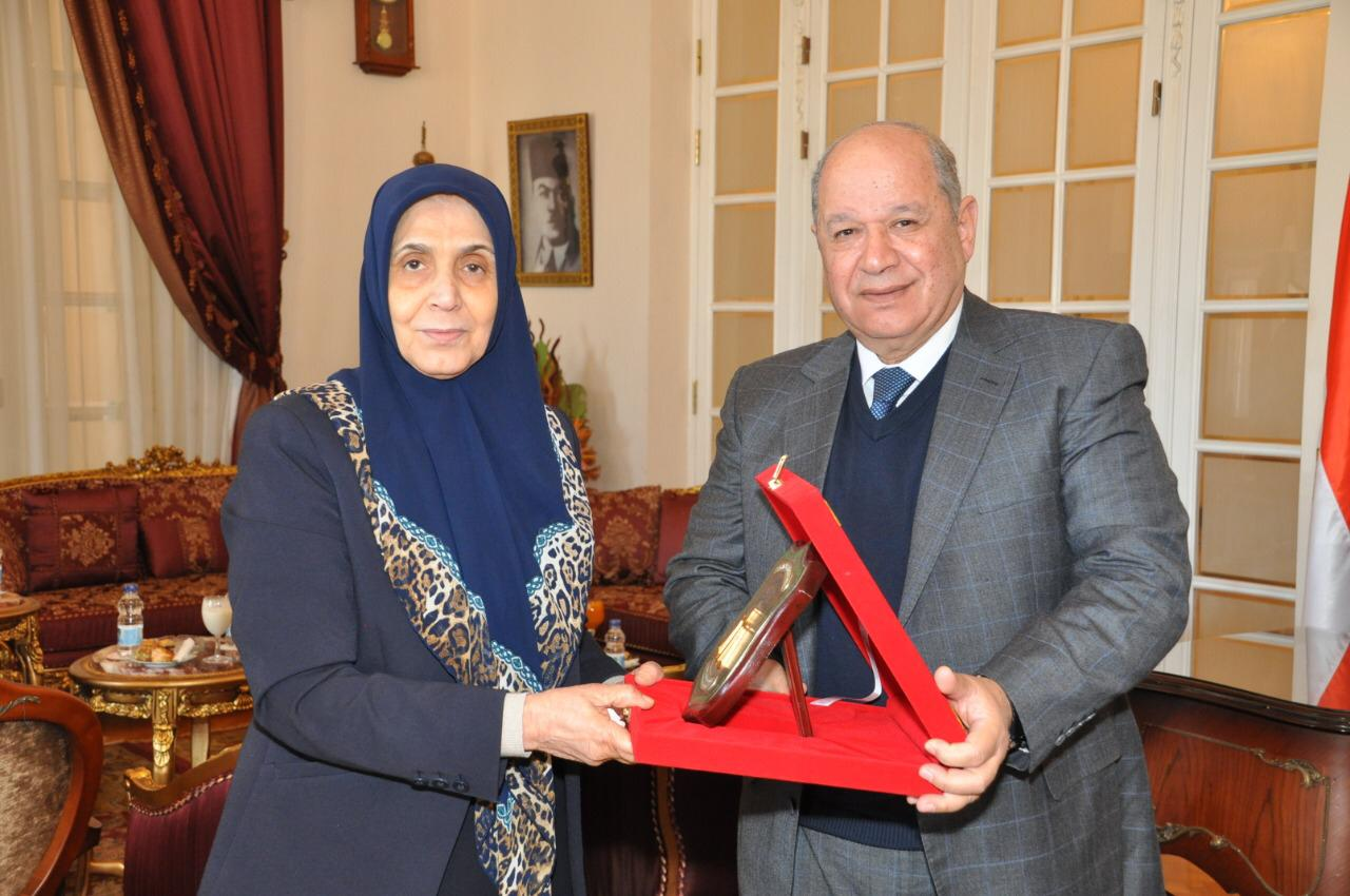 رئيس مجلس الدولة يستقبل رئيس مجلس الدولة بالعراق (4)