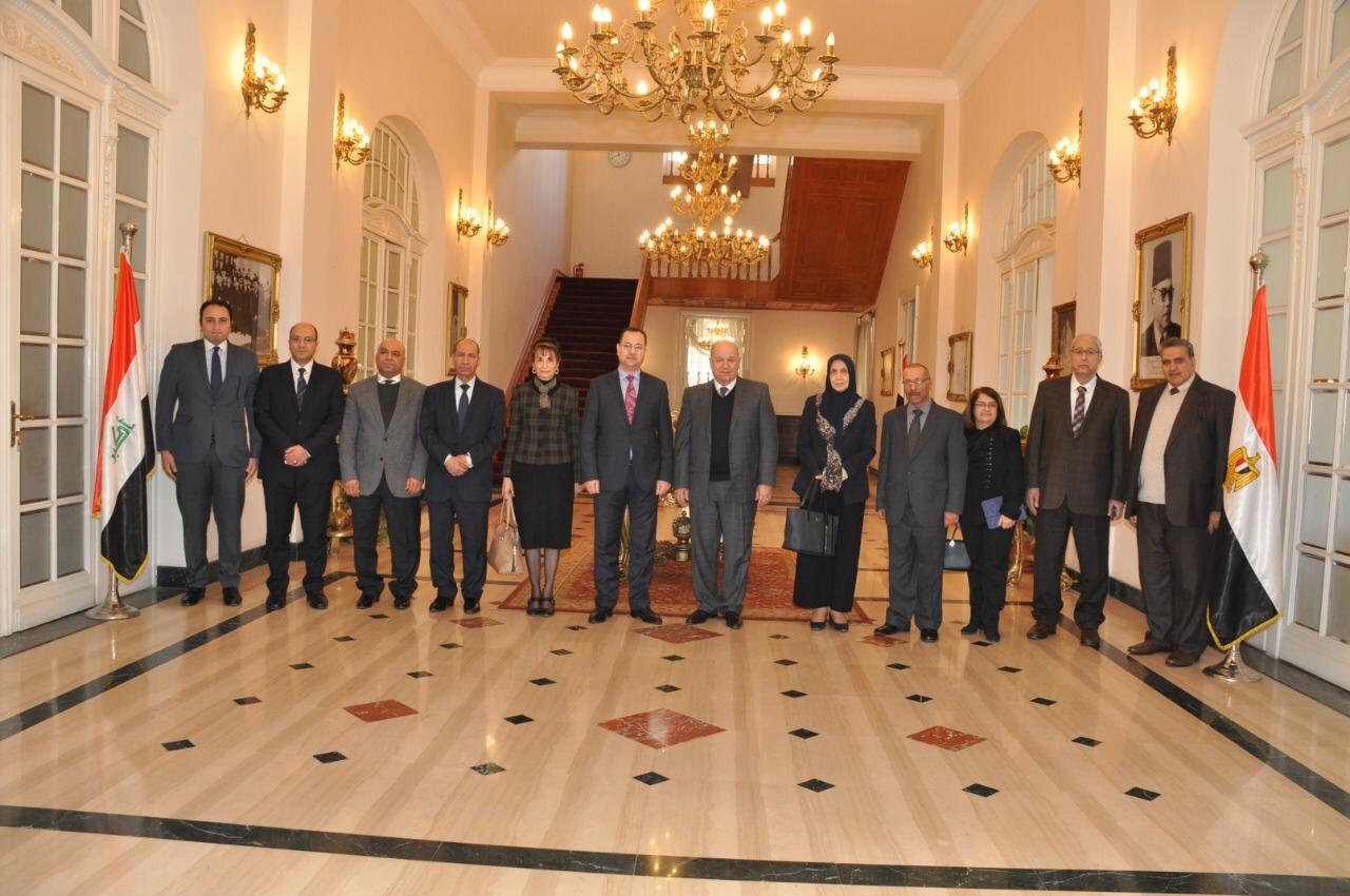رئيس مجلس الدولة يستقبل رئيس مجلس الدولة بالعراق (2)