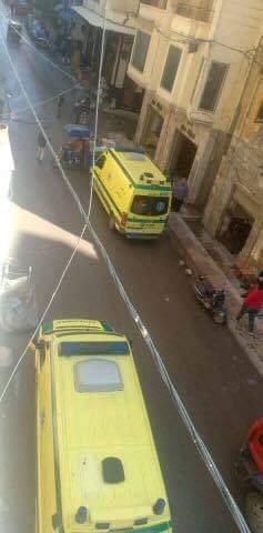 حادث انهيار عقار كرموز بالإسكندرية  (4)