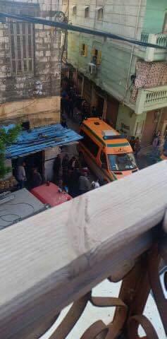 حادث انهيار عقار كرموز بالإسكندرية  (2)