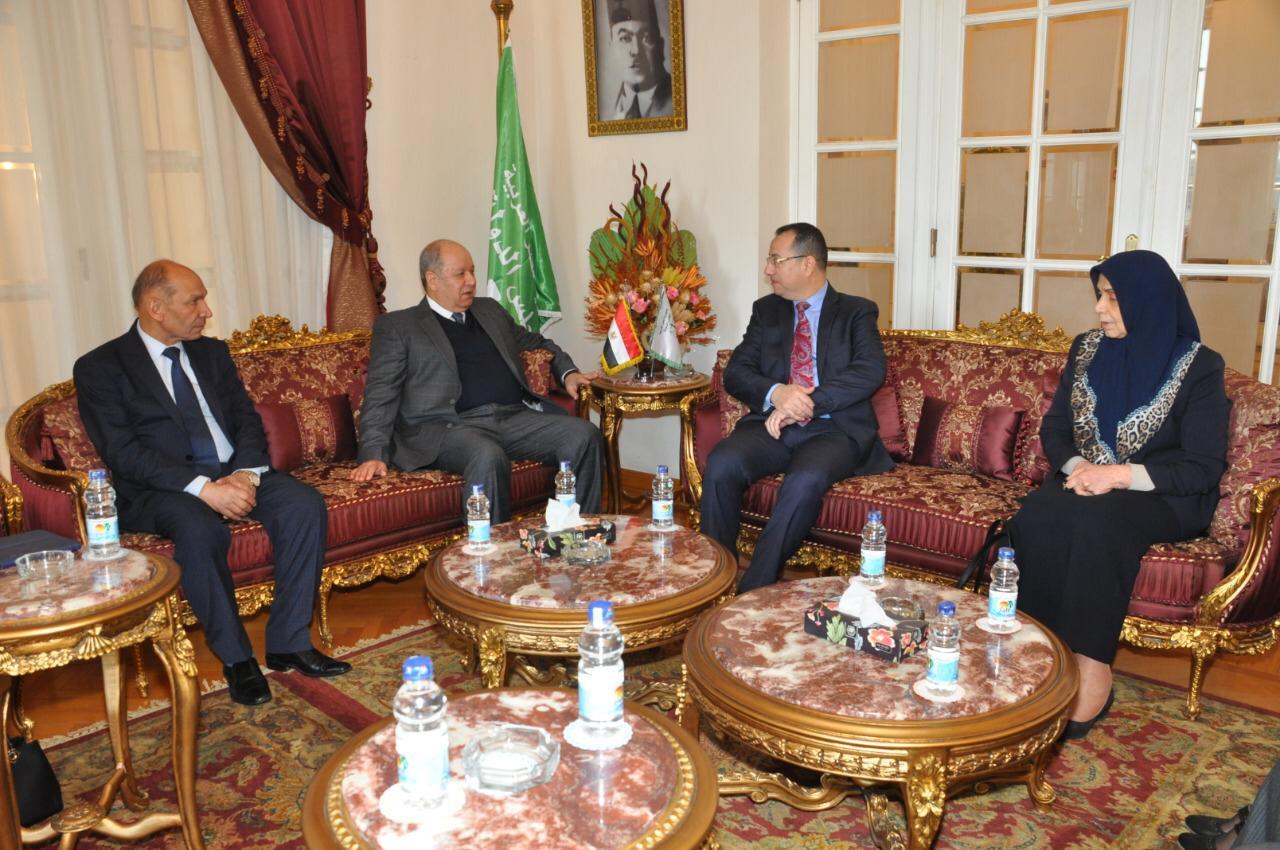 رئيس مجلس الدولة يستقبل رئيس مجلس الدولة بالعراق (1)