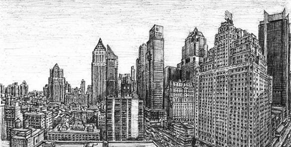 رسم مانهاتن