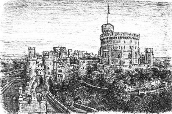 قلعة ويندسور