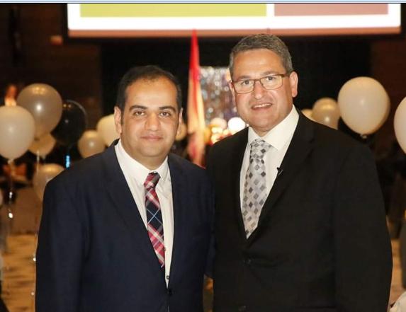 هانى عادل نائب رئيس المجلس الاستشارى المصرى - الاسترالى