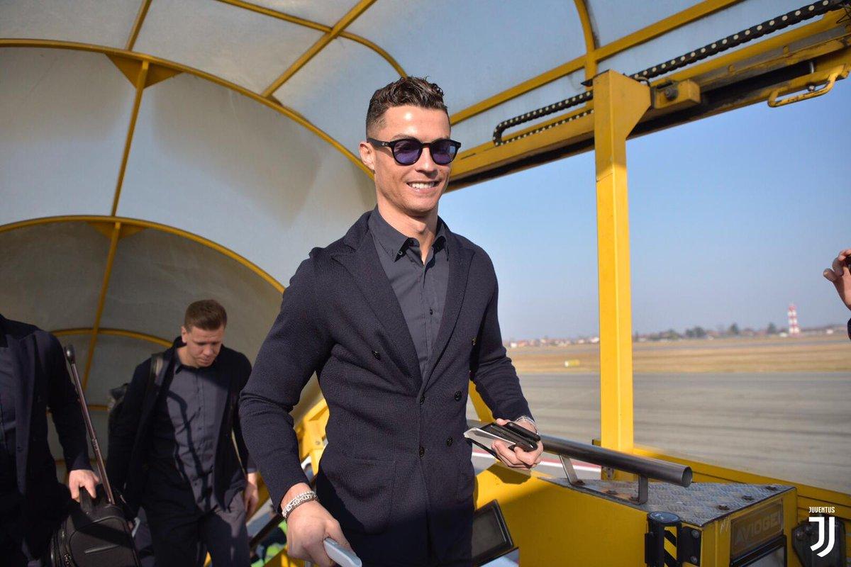 بعثة يوفنتوس تطير إلى مدريد (1)