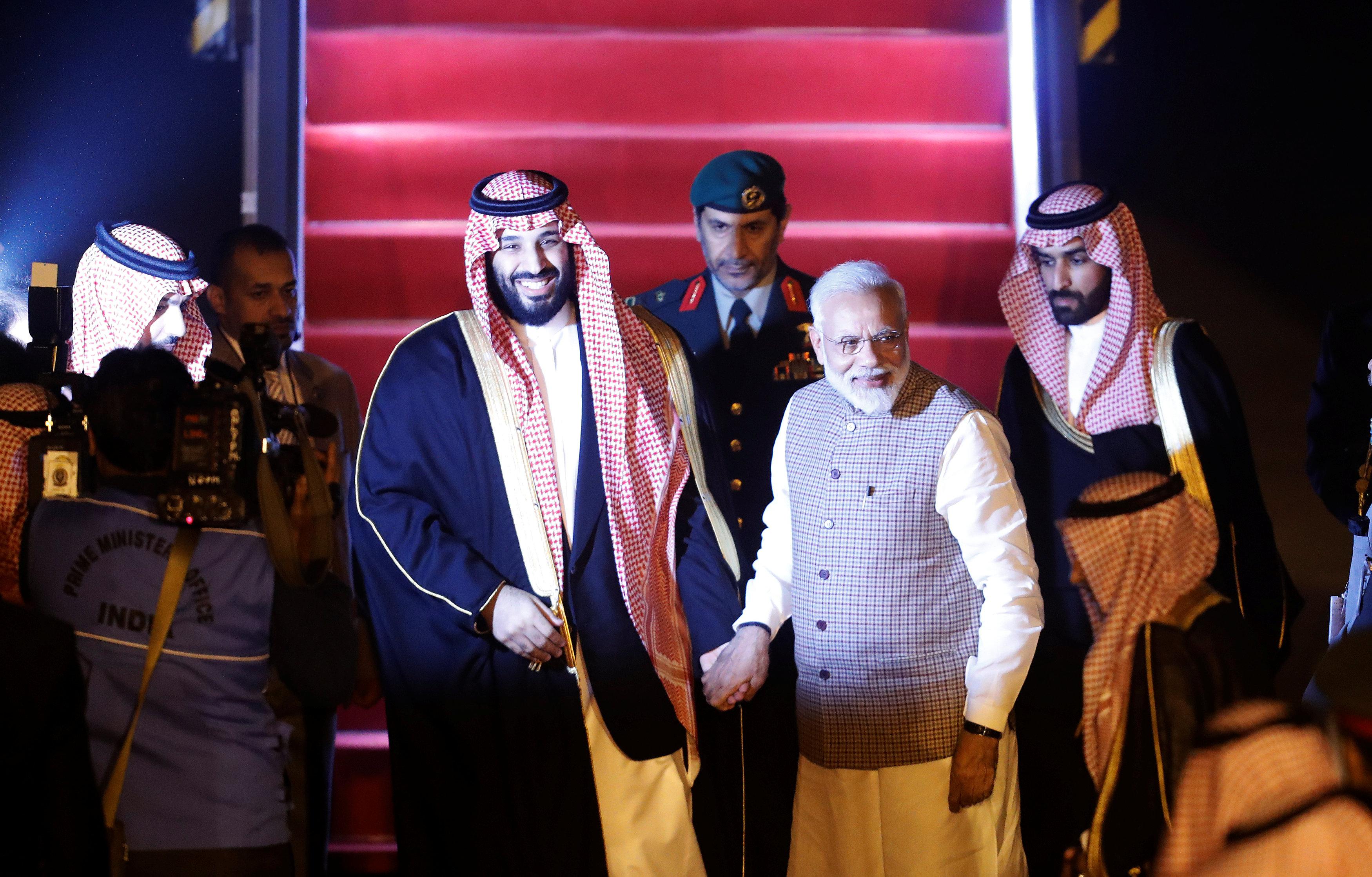 رئيس وزراء الهند وبن سلمان