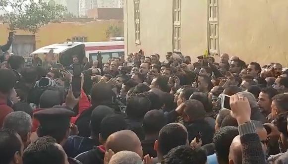 تشييع جثمان شهيد شرطة