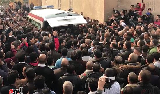 جنازات شهداء حادث الدرب الأحمر (2)