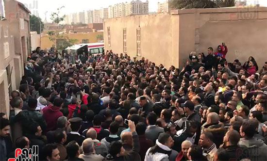 جنازات شهداء حادث الدرب الأحمر (1)