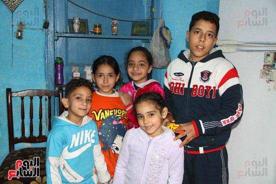 عائلة حلاوتهم مصابه حادث الدرب الاحمر (8)