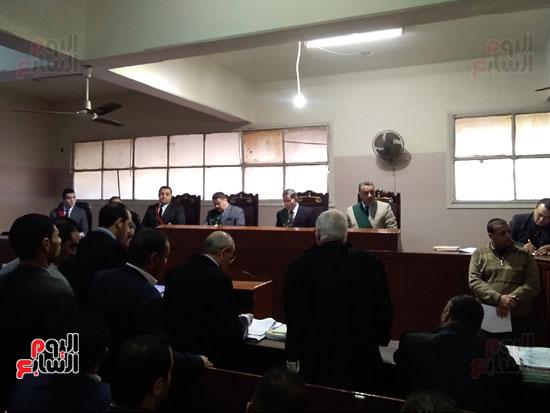 محاكمة الطبيب قاتل زوجته وأولاده بكفر الشيخ (6)