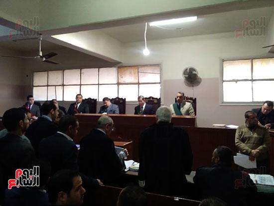 محاكمة الطبيب قاتل زوجته وأولاده بكفر الشيخ (5)