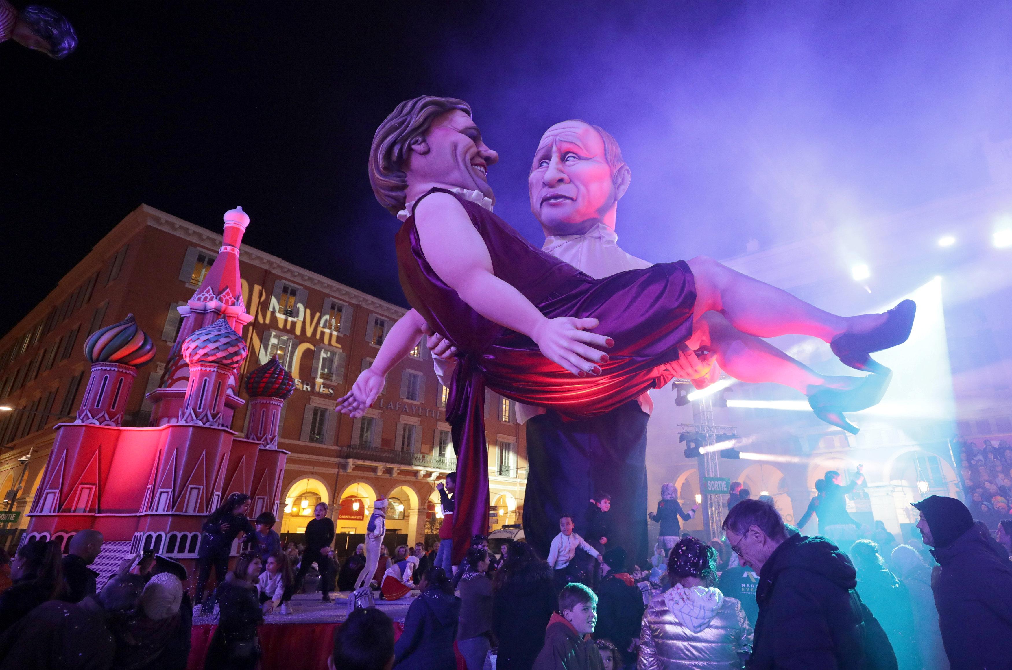بوتين والممثل الفرنسي جيرار دوبارديو